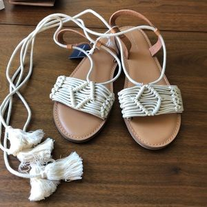 American Eagle Outfitters Macrame Sandals